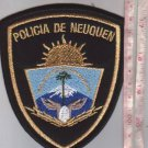 Argentina Police Patagonia Chubut Province Patch 2