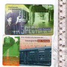 Argentina Telecom Telefonica Phone Card 2 Cards LOT Railway Railroad Train Serie