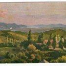 Argentina Cordoba Mountains Landscapes Postcard Art Painting Signed MAX RICHTER