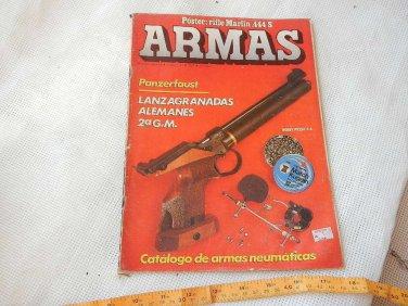 Argentina Armas Weapon Shooting 1985 Magazine German Grenade Launcher Guns 78 pg