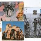 Argentina Telecom Telefonica Phone Card 3 Cards LOT Aldo Sessa Tango Folklore