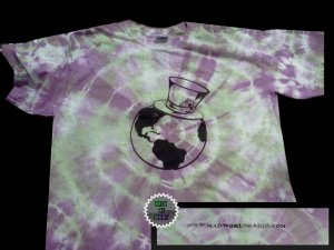 MWR TIE DYE Logo Shirt