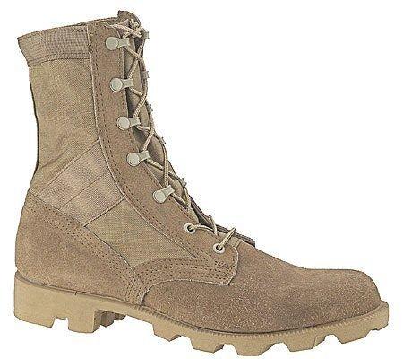 Tan Army combat work boots military surplus Altama