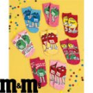 Ladies 8-Pair M&M's® No-Show Socks