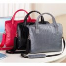 Embossed Croc Laptop Cases in Black