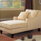 500029 Accent Seating Microfiber Chaise Lounge