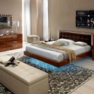 Sky Compositon 7 King Size 5pc Bedroom Set Camel Group