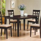 100771-72 Cappuccino Finish 5PC Dining Set