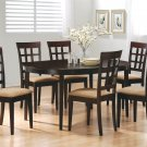 100770-72 Cappuccino Finish 7PC Dining Set