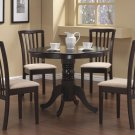 101081-82 Brannan Cappuccino 5pc Dining Set