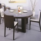 Omega Modern 5pc Dining Set in Wenge Finish