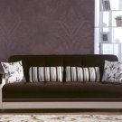 Natural in Colins Dark Brown Sleeper Sofa  by Sunset