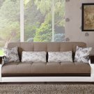 Natural in Naomi Lt Brown Sleeper Sofa  by Sunset