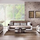 Natural 3pc Sofa Set in Naomi Lt Brown