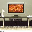 TV-7424 Modern Glass-Wood TV Stand
