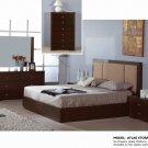 Queen Size Atlas Wenge Modern 5pc Bedroom Set