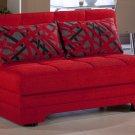 Twist Sleeper Sofa bed in Story Red