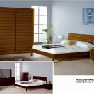 Alpha Queen Bedroom Set Teak Color Beverly Hills
