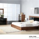 Stark Queen Size 5pc Bedroom Set  in Walnut Finish