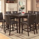 103777-779 Milton Marble Venner 9pc Counter Height Dining Set