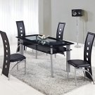 D1058DT, D1058DC 5pc Dining Set by Global