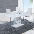 D470DT-D490DC 5pc White Dining Set by Global