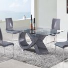 D989DT-D989DC 5pc Dining Set by Global