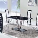 D551DT, D803DC-WH 5pc Dining Set by Global
