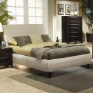 300369 Contemporary Upholstered Queen Size Bed