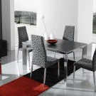 Nadia-Party Modern 5pc Dining Set