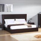 Escape Wenge Finish King Size Platform Bed