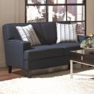 Finley Blue Upholstery Love Seat