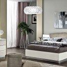 Modern Style Onda White Finish 5pc King Bedroom Set