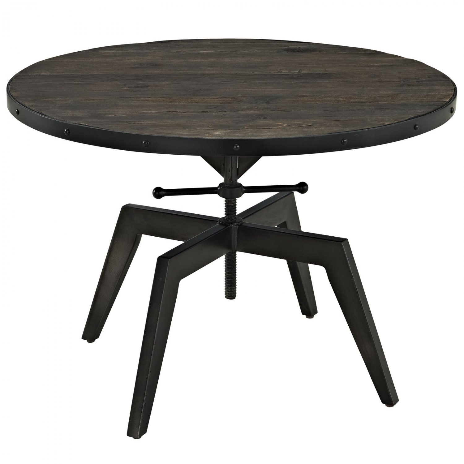 Barnes Round Industrial Coffee Table