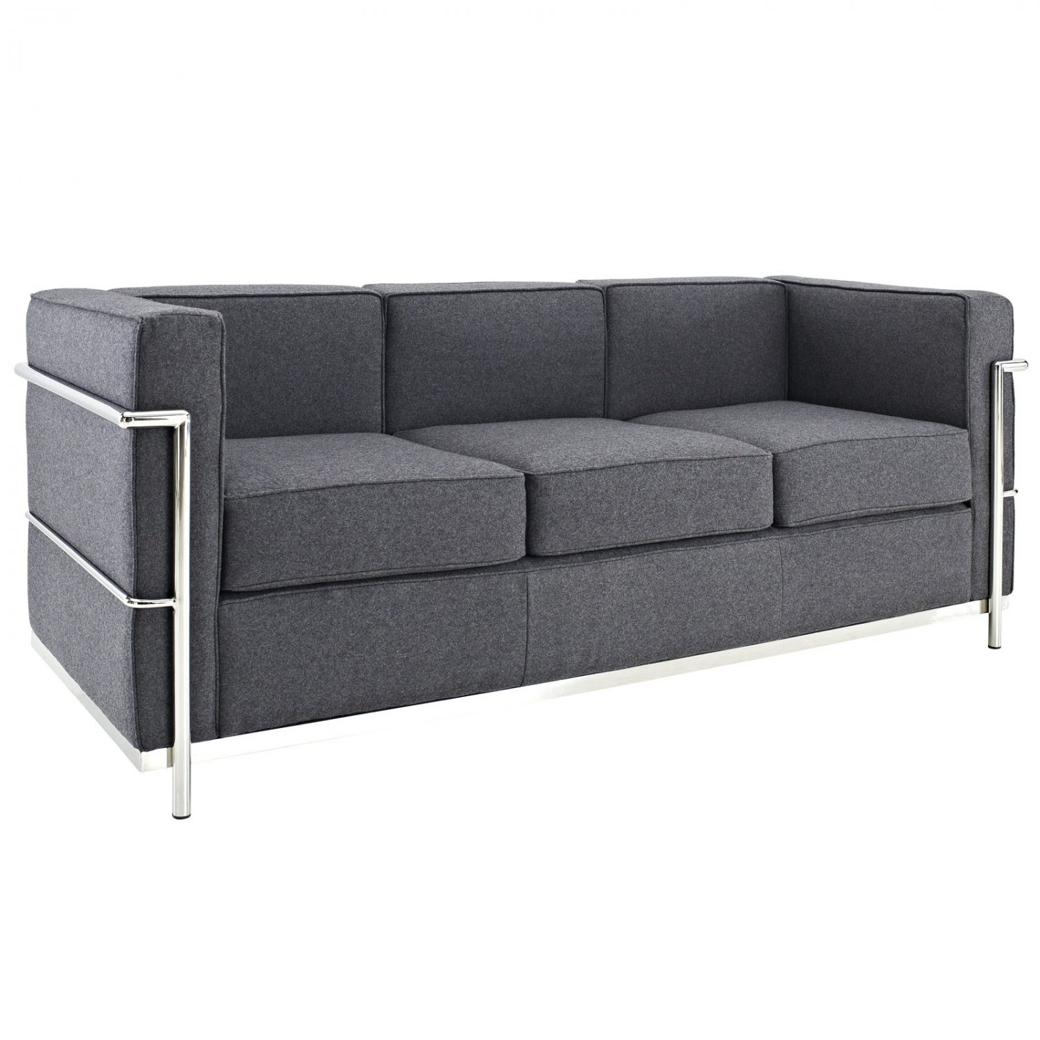 Corbusier lounge dimensions crafts Le corbusier lc2 sofa