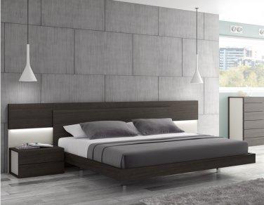 Maia Modern Queen Size Platform Bed