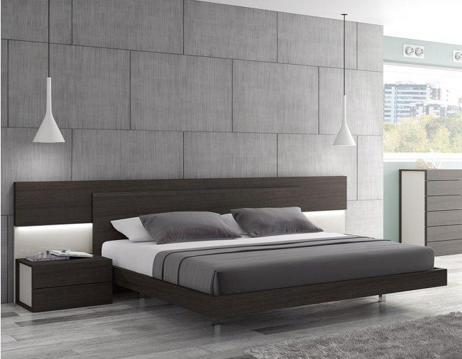 Maia Modern King Size Platform Bed