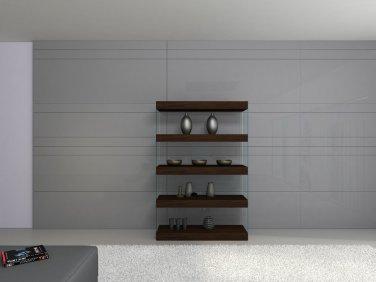 Float Curio Unit by J&M Furniture