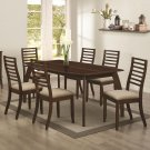 Amanda7 Piece Contemporary Dining Set