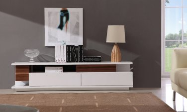Modern TV061 TV Stand by J&M Furniture