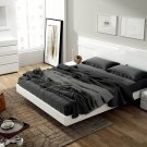 Sara Modern King Size 5pc Bedroom Set by ESF