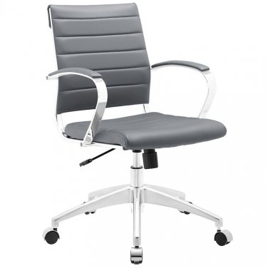 Marco Modern Office Chair in Grey Vinyl