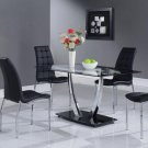 D716DT-D716DC 5pc Dining Set