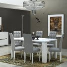 Elegance Modern Style 7pc Dining Room Set