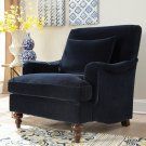 Helen Midnight Blue Accent Chair