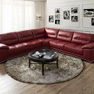 Valentino Premium Leather Sectional Sofa