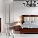 Carmen Walnut Queen Bedroom Set by ESF