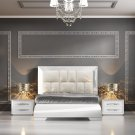 Carmen White King Bedroom Set by ESF