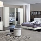 Dama White King Bedroom Set by ESF