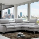 Viola Premium Leather Sectional by J&M